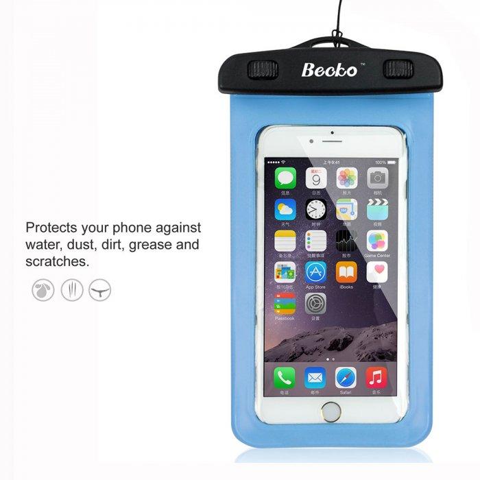 100% authentic d13e2 fb67d Becko Waterproof Waist Bag Case Pouch for Kayaking, Sauna   Becko
