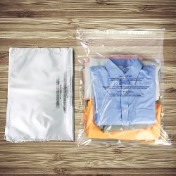 Self Seal Clear Flat Poly Bags